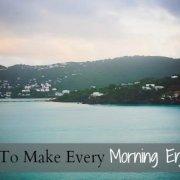 Enjoyable morning