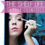 the shelf life of your cosmetics