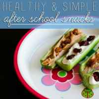 Healthy and Simple After School Snacks