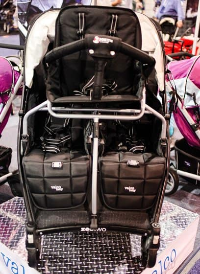 valco stroller that seats 3