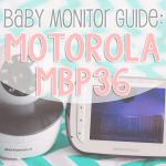 Baby Monitor Guide Motorola MBP36 (2)
