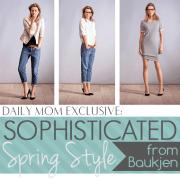 Sophisticated Spring Style from Baukjen