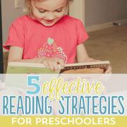 5 Effective Reading Strategies for Preschoolers