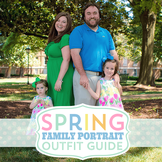 Spring Family Portraits Outfit Guide u00bb Daily Mom