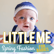Little Me spring fashion for babies