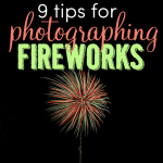 9 tips for photographing fireworks