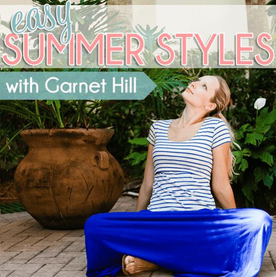 Easy Summer Styles by Garnet Hill2