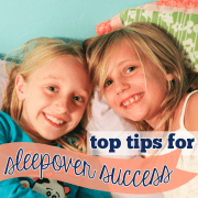 top tips for sleepover success