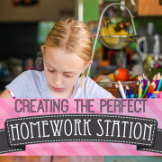 Creating the Perfect Homework Station-Recovered