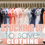 Stocking Up To Save Clothing