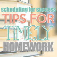 Scheduling for Success: Tips for Timely Homework