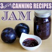 3 canning recipes jam