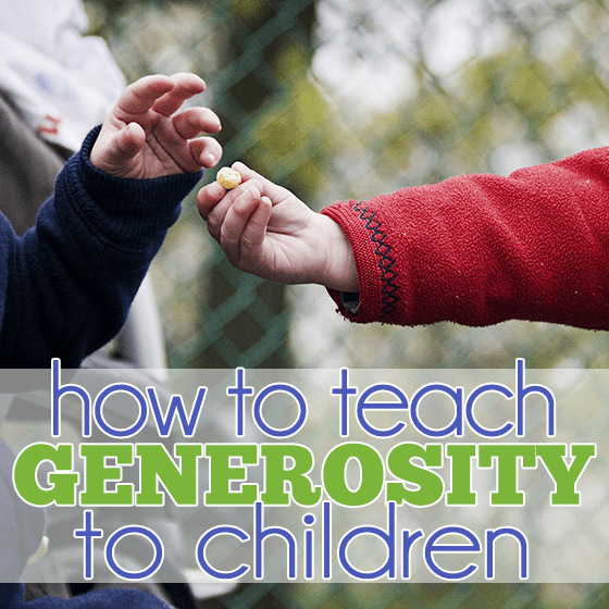 How to Teach Generosity to Children