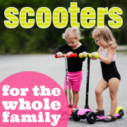 Scooters for the Whole Family