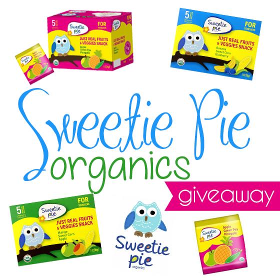 Sweetie Pie Organics Giveaway