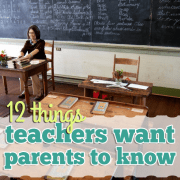 12 things parents want teachers to know