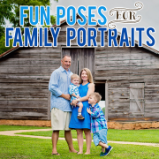 Fun Poses for Family Portraits Op1