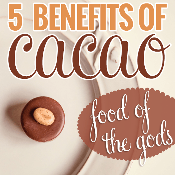 5 Benefits of Cacao