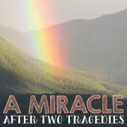 A miracle after two tragedies