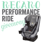 Recaro Performance Ride Giveaway
