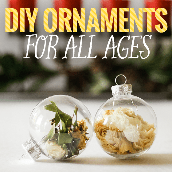 DIY Ornaments for All Ages