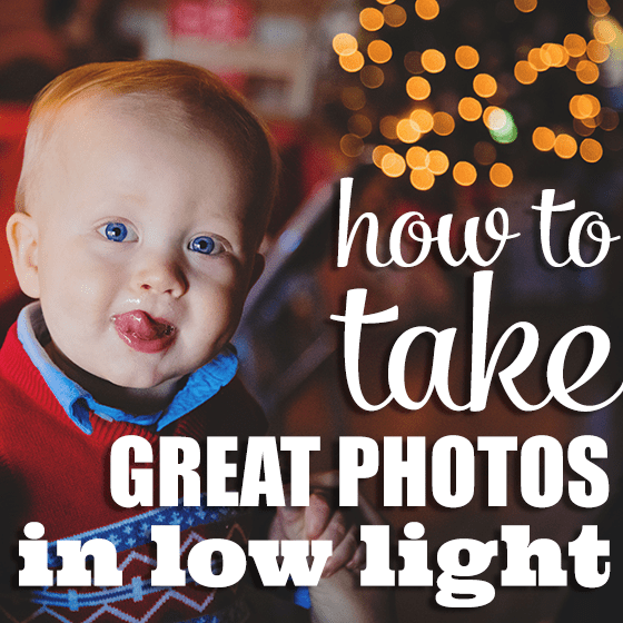 How to take good low light photos without flash player