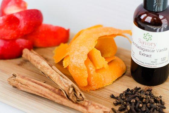 Potpourri ingredients