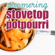 Simmering Stovetop Potpourri