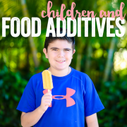 Children & Food Additives