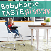 Babyhome Taste Giveaway