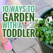 10 Ways to Garden With a Toddler