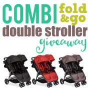 Combi Fold N Go Double Stroller Giveaway