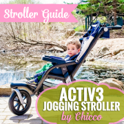 ACTIV3 Jogging Stroller by Chicco Pin