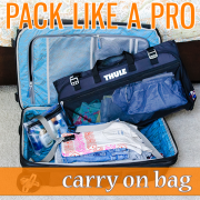 Pack Like a Pro Carry On Bag