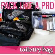 Pack Like a Pro toiletry bag 3