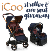 iCoo Stroller and Car Seat Giveaway