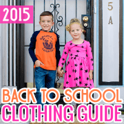 Back to School Clothing Guide 2015