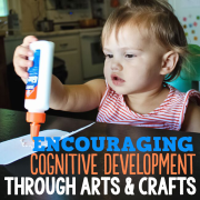Encouraging Cognitive Development Through Arts and Crafts