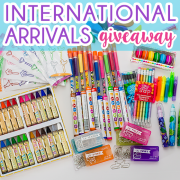 International Arrival Giveaway 2