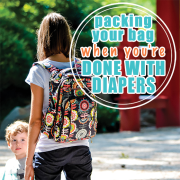 Packing your Bag when you re done with diapers 4