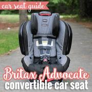Car Seat Guide Britax Advocate Convertible Car Seat