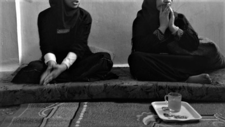 Syrian girl shares her story in her home in Mafraq, Jordan, on January 29th, 2017.