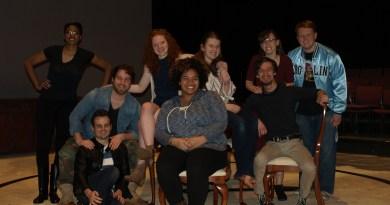 The Dining Room Cast & Crew. Virginia Beach, VA, 7 March 2017. (Rebecca Presnall)