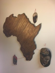Map of Africa, Mar. 2018. (Brian Baugus)
