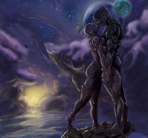 dark erotic fantasy art