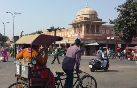 Open Square in Jaipur