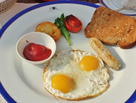 Day Three Breakfast at Suryamahal