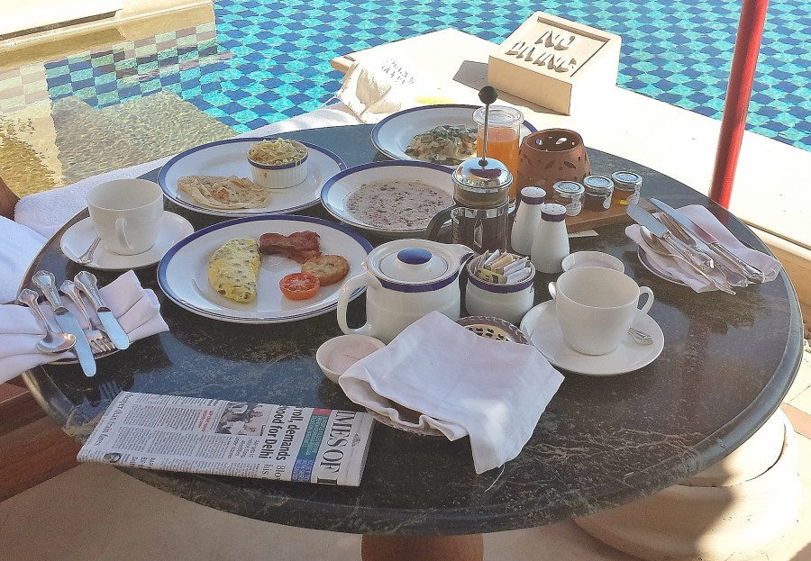 Breakfast on our balcony the dairy free travelerthe for On our balcony