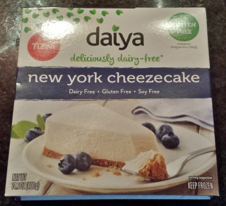Daiya Dairy Free New York Cheezecake Review