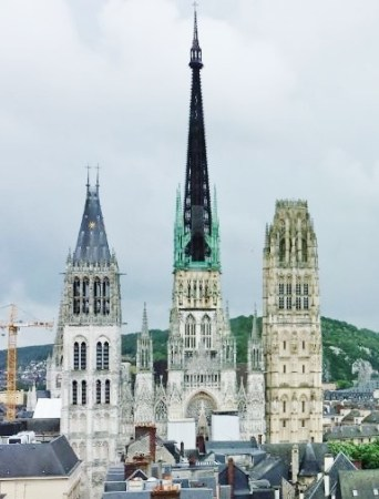 Previewing Dairy Free Options in Rouen France